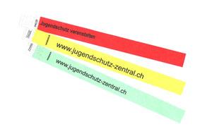 Kontrollbändeli Farbsatz 1 (eintägige Veranstaltungen)