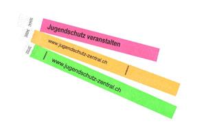Kontrollbändeli Farbsatz 2 (nur für zweiten Veranstaltungstag)