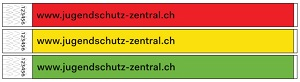 Kontrollbändeli: Farbsatz 1