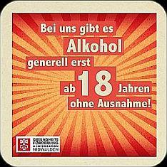Kleber Alkohol ab 18 Jahren