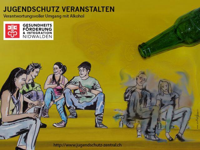 Werbung Jugendschutz veranstalten